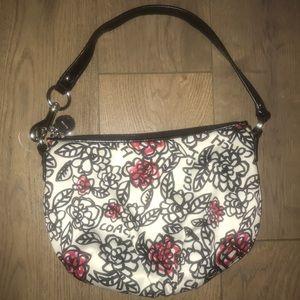 Coach floral print small Mini bag Purse